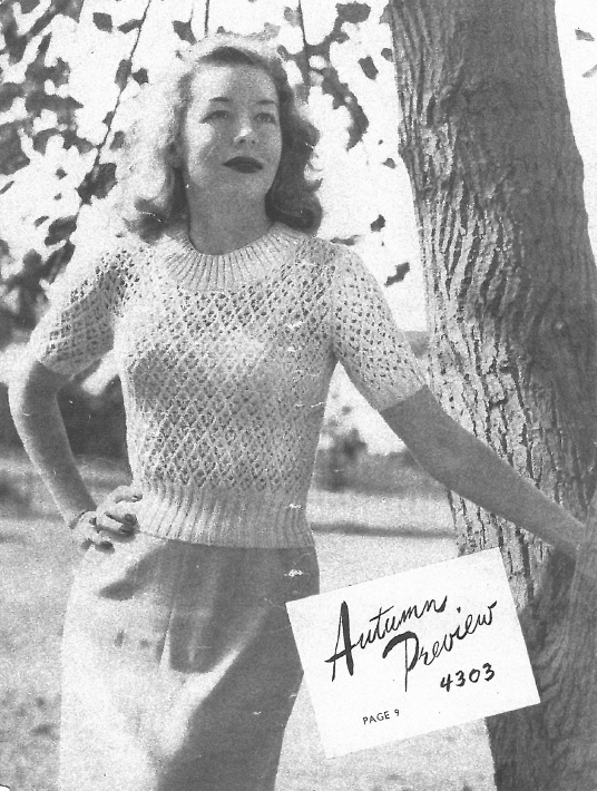 Free Vintage Knitting Pattern Booklet Twin Prufe Series 144 C